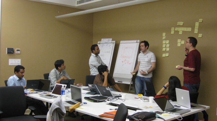 startups drawing board