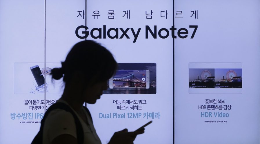 samsung galaxy note 7 seoul