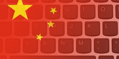 china flag keyboard cybersecurity