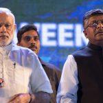 india prime minister narendra modi ravi shankar prasad it minister