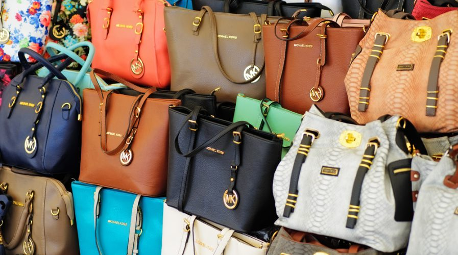 counterfeit branded bags goods