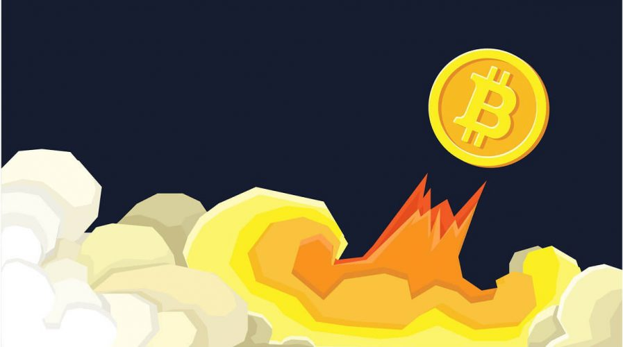 Bitcoin financial system grows. Crypto currency hype
