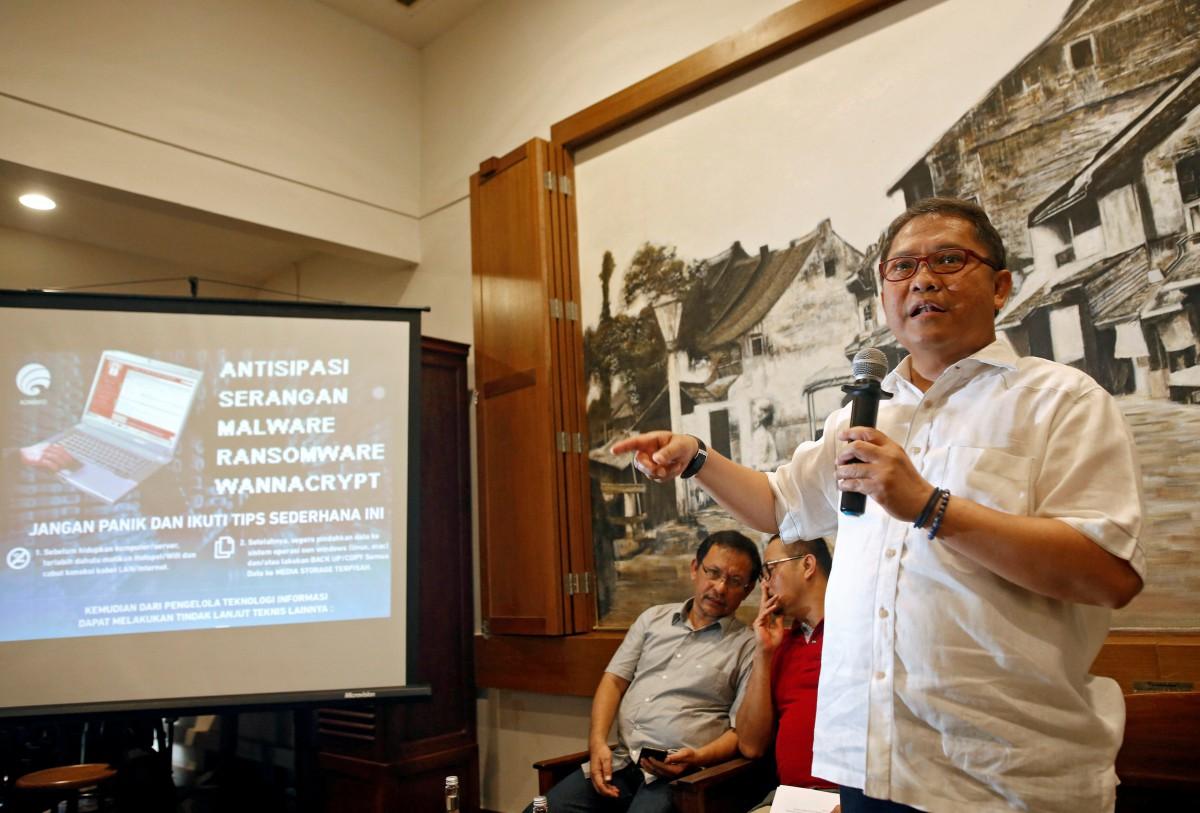 Indonesia, communications minister, Rudiantara, cyberattack