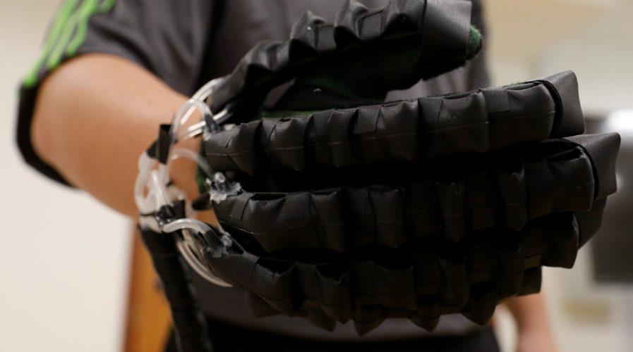 soft robot glove singapore robotics