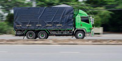 logistics delivery truck