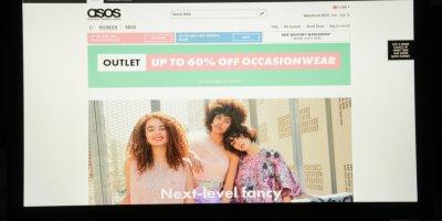 ASOS's webite
