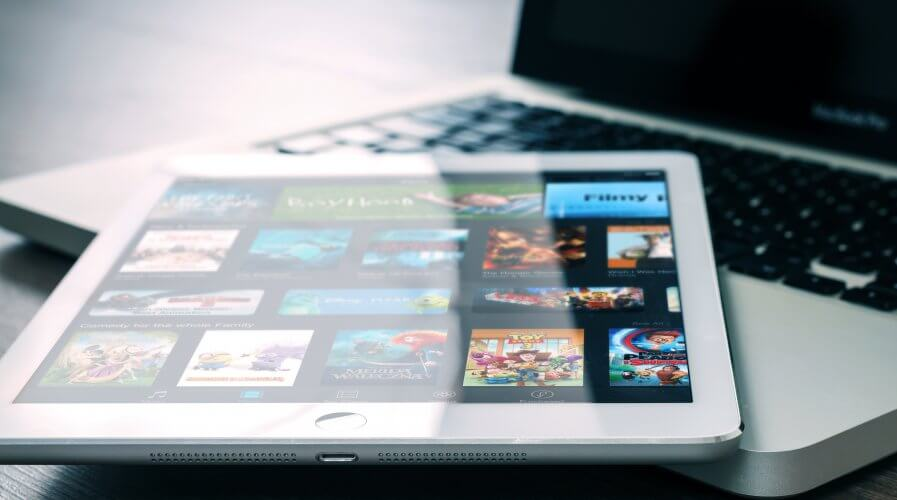 Video on Demand Tablet