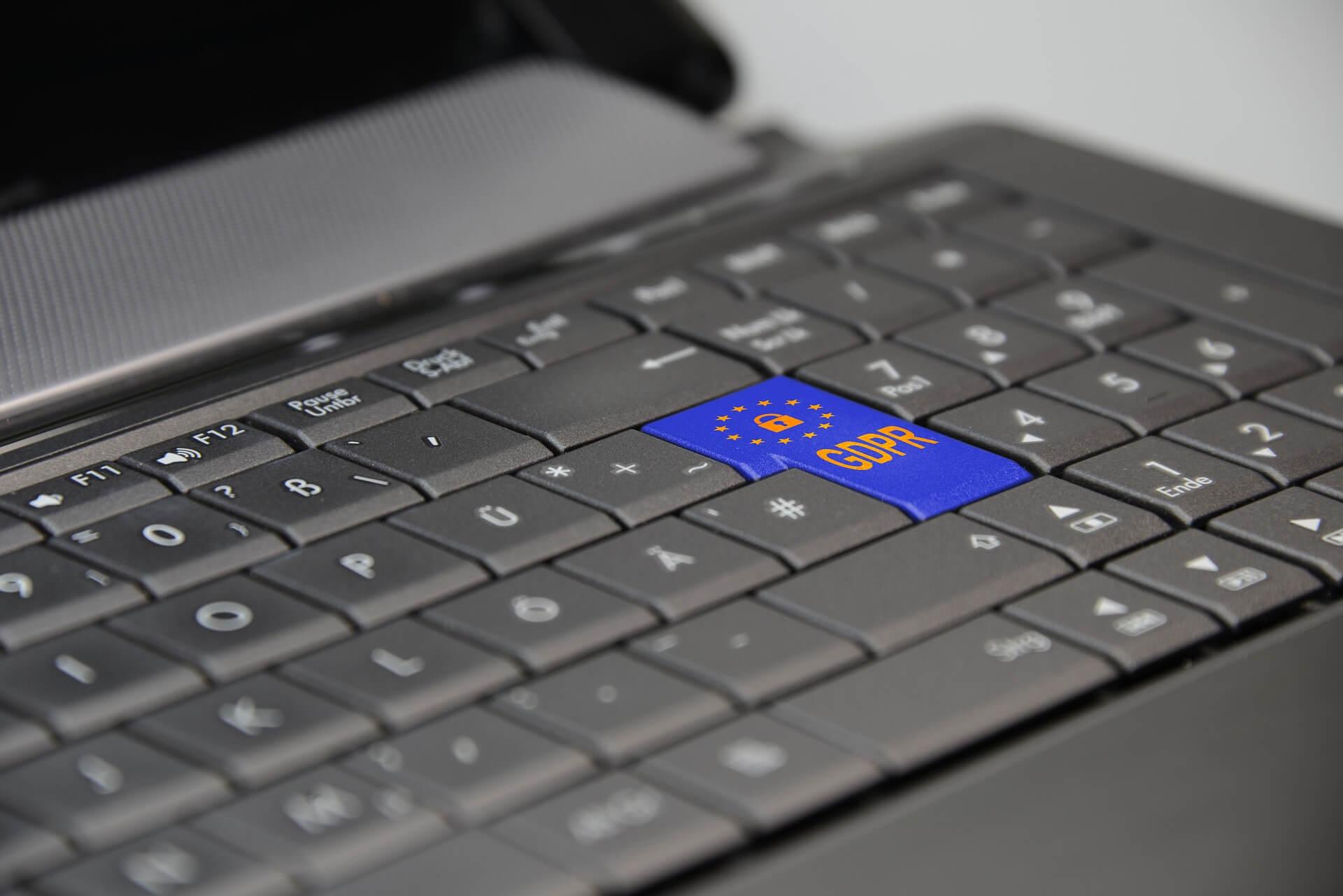 keyboard GDPR